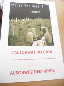 Bolzano 04.02.2012 manifestazione contro lo sfruttamento degli animali 51