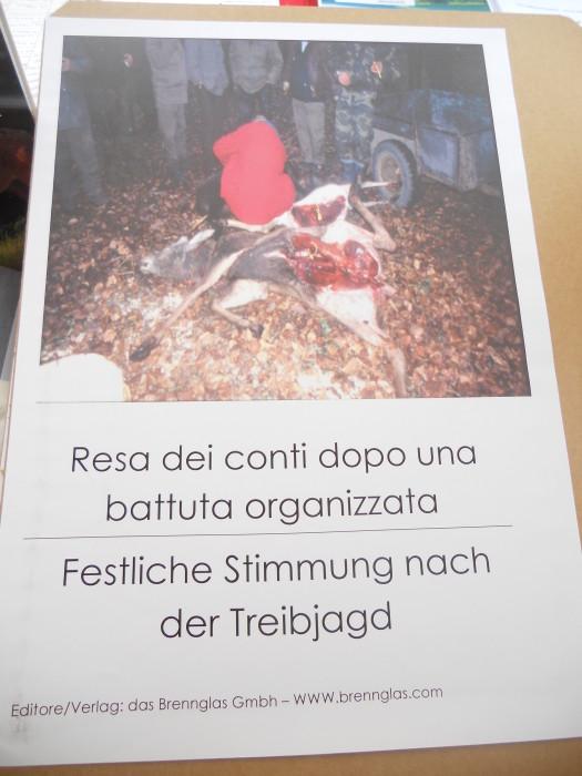 Bolzano 04.02.2012 manifestazione contro lo sfruttamento degli animali 235