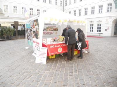 Bolzano 04.02.2012 manifestazione contro lo sfruttamento degli animali 70