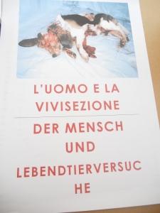 Bolzano 04.02.2012 manifestazione contro lo sfruttamento degli animali 77