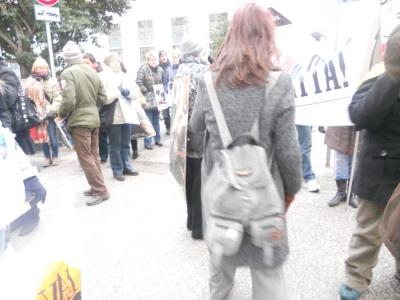 Bolzano 04.02.2012 manifestazione contro lo sfruttamento degli animali 84