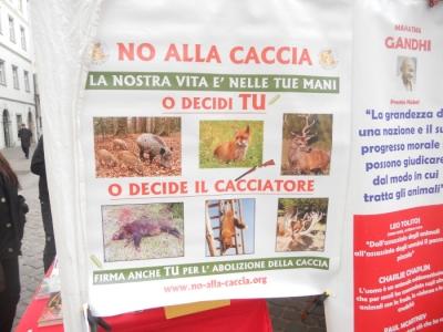 Bolzano 04.02.2012 manifestazione contro lo sfruttamento degli animali 87