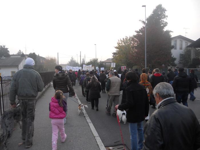 19.11.11- MANIFESTAZIONE CONTRO IL LAGER 160