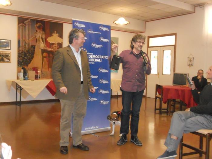13.11.11. Pranzo vegano a Musano di Trevignano (TV) con Andrea Zanoni presidente Lac e neo eletto eurodeputato 35