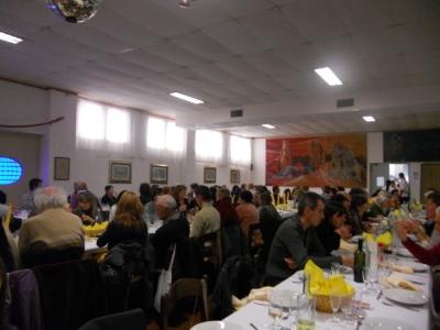 13.11.11. Pranzo vegano a Musano di Trevignano (TV) con Andrea Zanoni presidente Lac e neo eletto eurodeputato 12