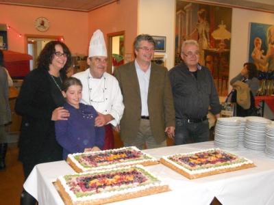 13.11.11. Pranzo vegano a Musano di Trevignano (TV) con Andrea Zanoni presidente Lac e neo eletto eurodeputato 14