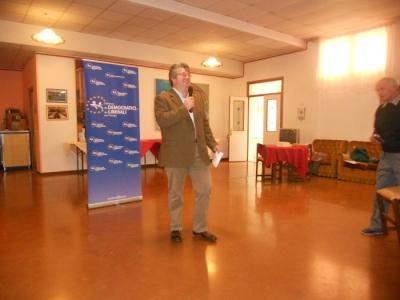 13.11.11. Pranzo vegano a Musano di Trevignano (TV) con Andrea Zanoni presidente Lac e neo eletto eurodeputato 24