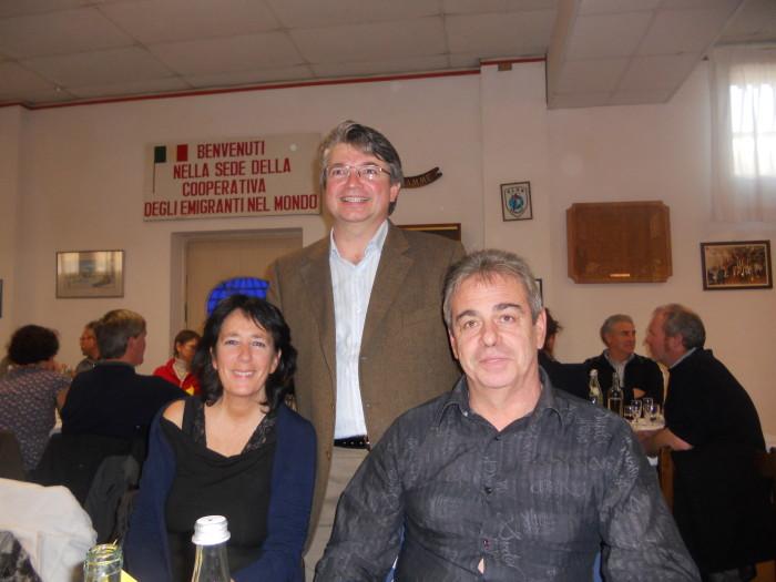 13.11.11. Pranzo vegano a Musano di Trevignano (TV) con Andrea Zanoni presidente Lac e neo eletto eurodeputato 30