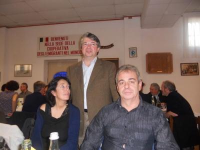 13.11.11. Pranzo vegano a Musano di Trevignano (TV) con Andrea Zanoni presidente Lac e neo eletto eurodeputato 7