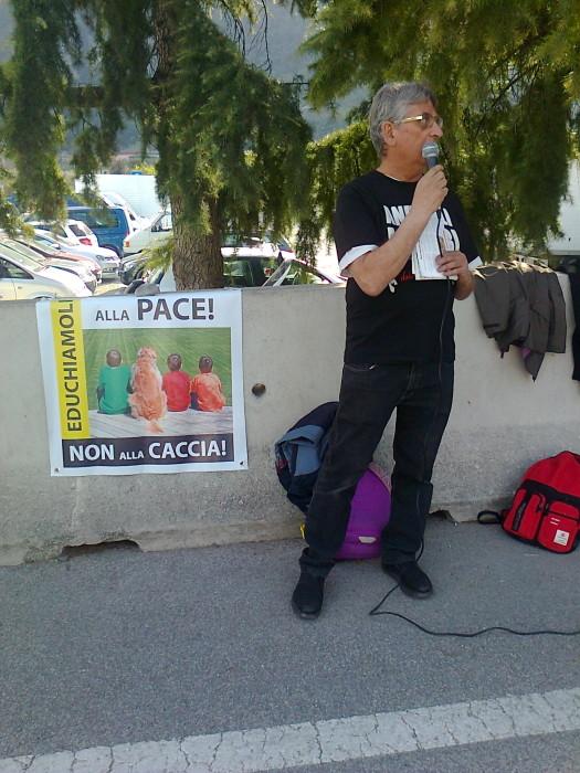Presidio alla Fiera Caccia e Pesca di Riva del Garda 31.03.2012 270