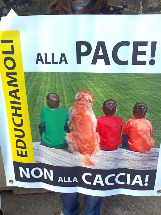 Presidio alla Fiera Caccia e Pesca di Riva del Garda 31.03.2012 273