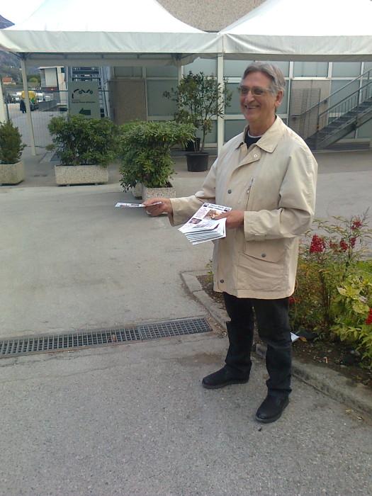 Presidio alla Fiera Caccia e Pesca di Riva del Garda 31.03.2012 276
