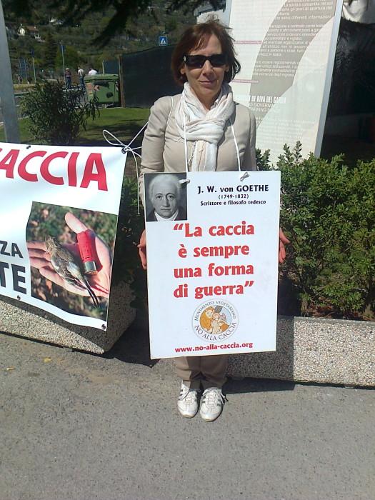 Presidio alla Fiera Caccia e Pesca di Riva del Garda 31.03.2012 278