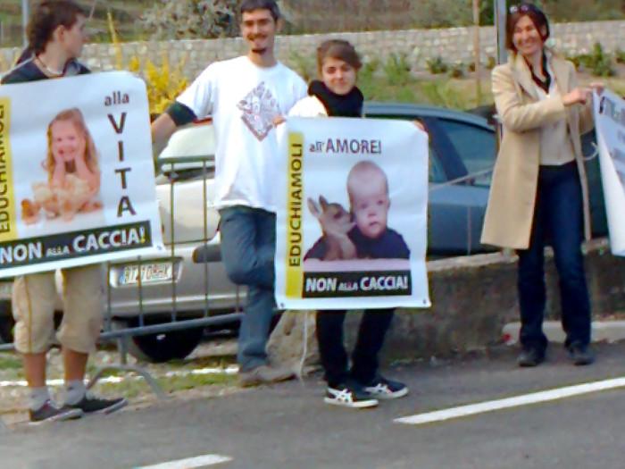 Presidio alla Fiera Caccia e Pesca di Riva del Garda 31.03.2012 285