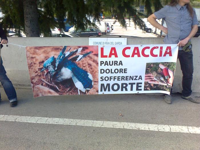 Presidio alla Fiera Caccia e Pesca di Riva del Garda 31.03.2012 288