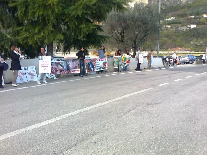 Presidio alla Fiera Caccia e Pesca di Riva del Garda 31.03.2012 291