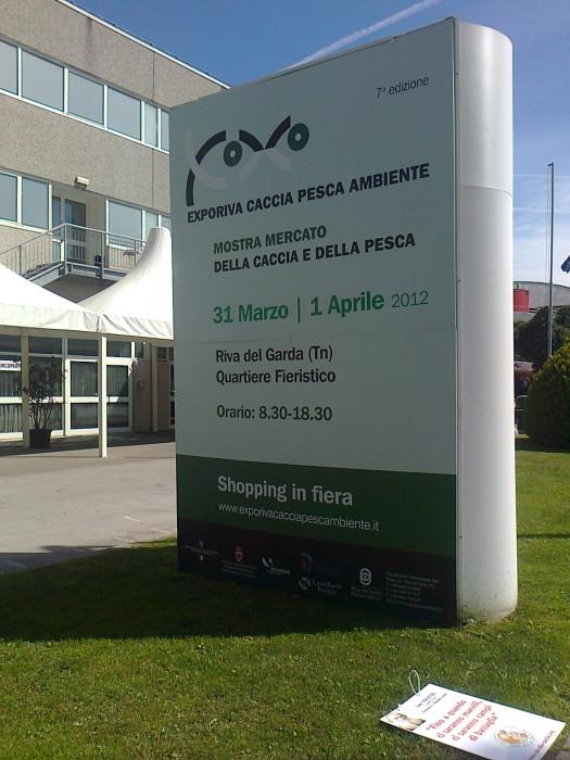 Presidio alla Fiera Caccia e Pesca di Riva del Garda 31.03.2012 298