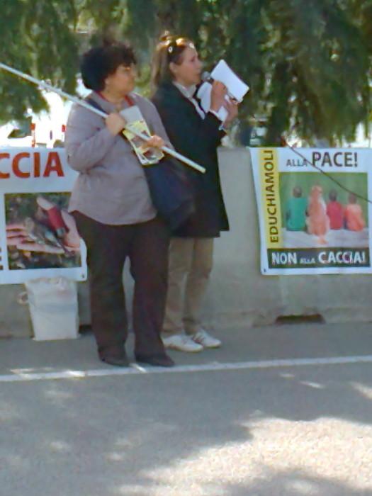 Presidio alla Fiera Caccia e Pesca di Riva del Garda 31.03.2012 316