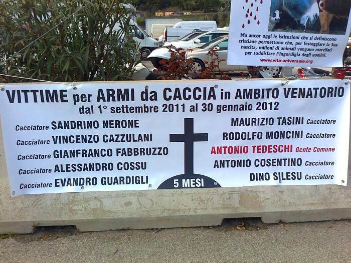 Presidio alla Fiera Caccia e Pesca di Riva del Garda 31.03.2012 318