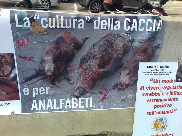 Presidio alla Fiera Caccia e Pesca di Riva del Garda 31.03.2012 325