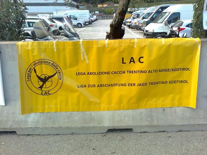 Presidio alla Fiera Caccia e Pesca di Riva del Garda 31.03.2012 327