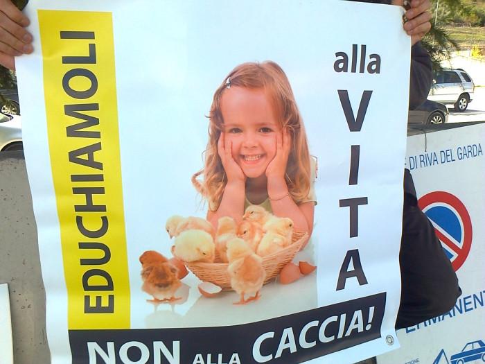 Presidio alla Fiera Caccia e Pesca di Riva del Garda 31.03.2012 329