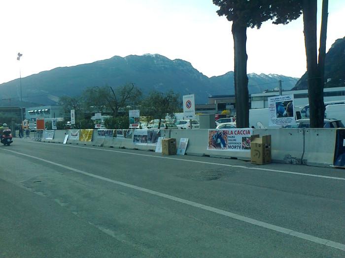 Presidio alla Fiera Caccia e Pesca di Riva del Garda 31.03.2012 174