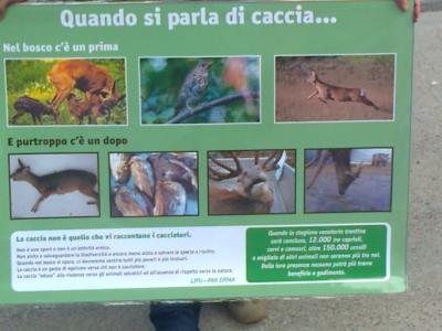 Presidio alla Fiera Caccia e Pesca di Riva del Garda 31.03.2012 11