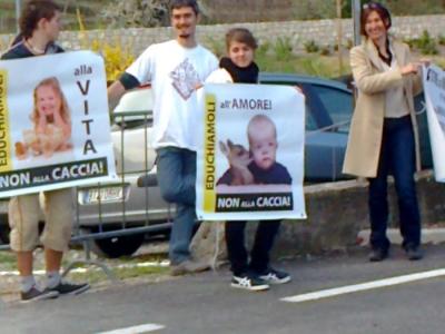 Presidio alla Fiera Caccia e Pesca di Riva del Garda 31.03.2012 12