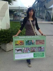 Presidio alla Fiera Caccia e Pesca di Riva del Garda 31.03.2012 13