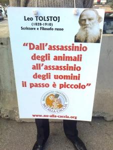 Presidio alla Fiera Caccia e Pesca di Riva del Garda 31.03.2012 16