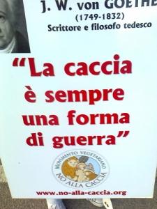 Presidio alla Fiera Caccia e Pesca di Riva del Garda 31.03.2012 19