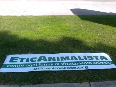 Presidio alla Fiera Caccia e Pesca di Riva del Garda 31.03.2012 22