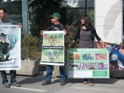 Presidio alla Fiera Caccia e Pesca di Riva del Garda 31.03.2012 33