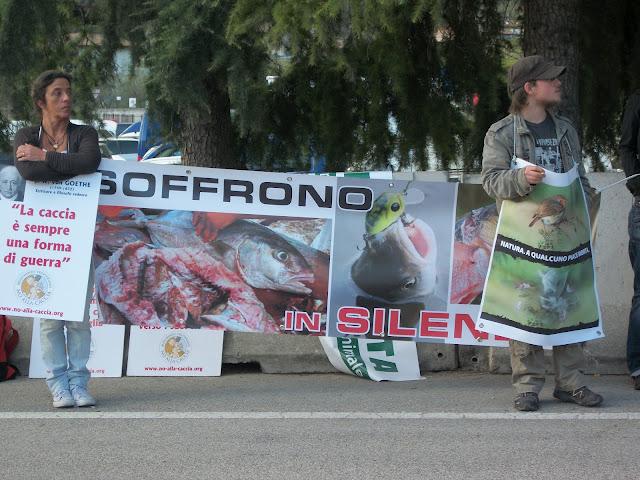 Presidio alla Fiera Caccia e Pesca di Riva del Garda 31.03.2012 200