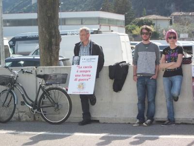 Presidio alla Fiera Caccia e Pesca di Riva del Garda 31.03.2012 43