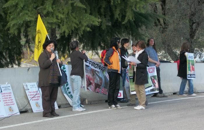 Presidio alla Fiera Caccia e Pesca di Riva del Garda 31.03.2012 218