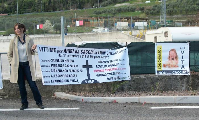 Presidio alla Fiera Caccia e Pesca di Riva del Garda 31.03.2012 225