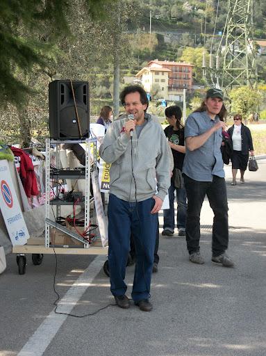 Presidio alla Fiera Caccia e Pesca di Riva del Garda 31.03.2012 230