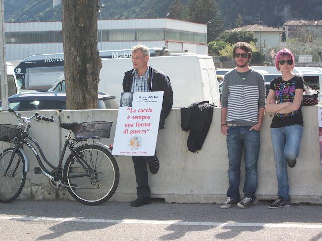 Presidio alla Fiera Caccia e Pesca di Riva del Garda 31.03.2012 231