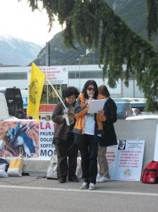 Presidio alla Fiera Caccia e Pesca di Riva del Garda 31.03.2012 74