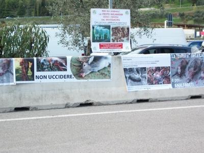 Presidio alla Fiera Caccia e Pesca di Riva del Garda 31.03.2012 76
