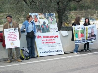 Presidio alla Fiera Caccia e Pesca di Riva del Garda 31.03.2012 81