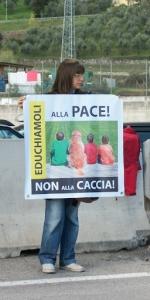 Presidio alla Fiera Caccia e Pesca di Riva del Garda 31.03.2012 101