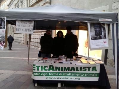 TAVOLO INFORMATIVO SULL'ABOLIZIONE DELLA CARNE 5