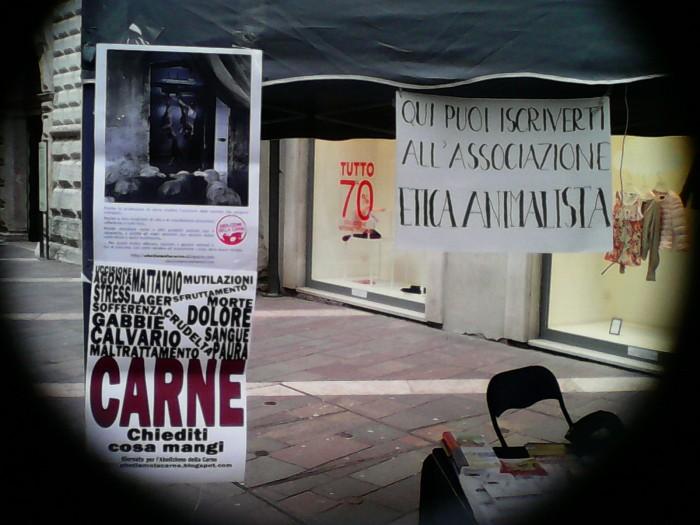 TAVOLO INFORMATIVO SULL'ABOLIZIONE DELLA CARNE 27