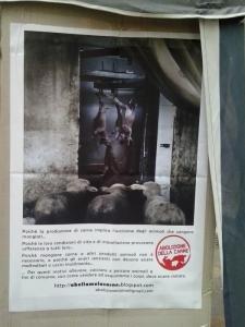 TAVOLO INFORMATIVO SULL'ABOLIZIONE DELLA CARNE 12