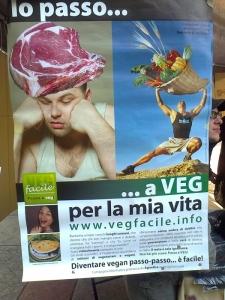 TRENTO 15.10.2011- TAVOLO INFORMATIVO PER LA SETTIMANA VEGETARIANA MONDIALE 28
