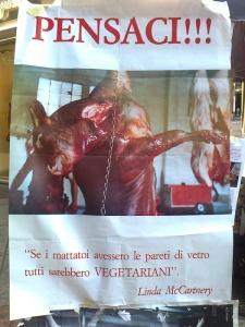 TRENTO 15.10.2011- TAVOLO INFORMATIVO PER LA SETTIMANA VEGETARIANA MONDIALE 15