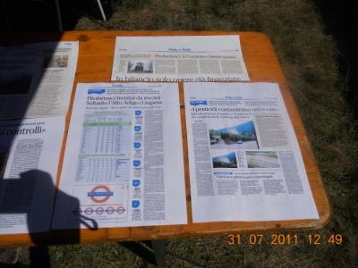 FESTA DELLE ASSOCIAZIONI - LOC. 7 LARICI - COREDO (TN) - 31.07.2011 7